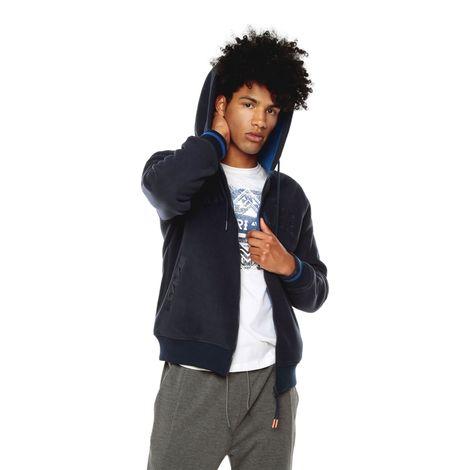 Buzo-para-Hombre-Polar-Fleece-Tuchni-negro-negro-black-azul-navy-blazer