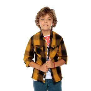 Camisa-Manga-Larga-para-Niño-con-Cuadros-Braunfels-amarillo-chai-tea-black-checks-amarillo-chai-tea-black-checks