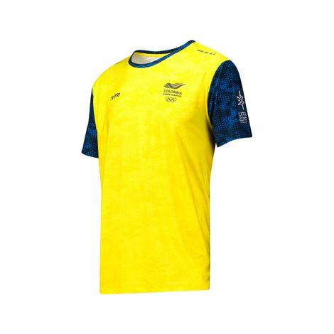 Camiseta-para-Hombre-Manga-Corta-Juegos-Panamericanos