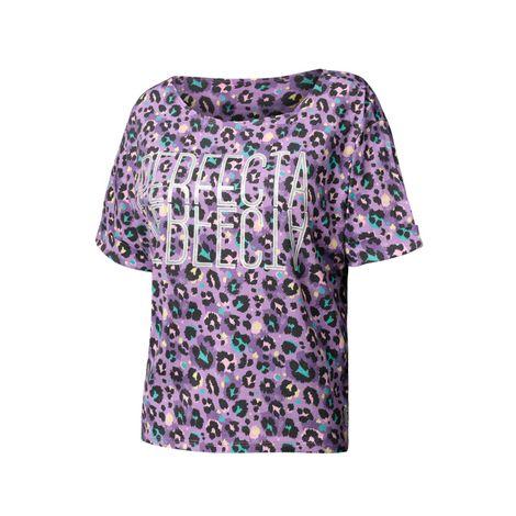 Camiseta-para-mujer-cuello-redondo-yatra-animal-print-yatra-animal-print