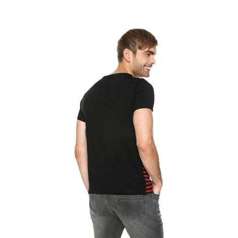 T-shirt-para-hombre-mozart-8-negro