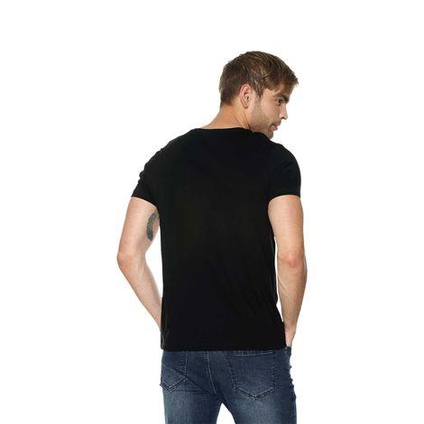 T-shirt-para-hombre-mozav-negro