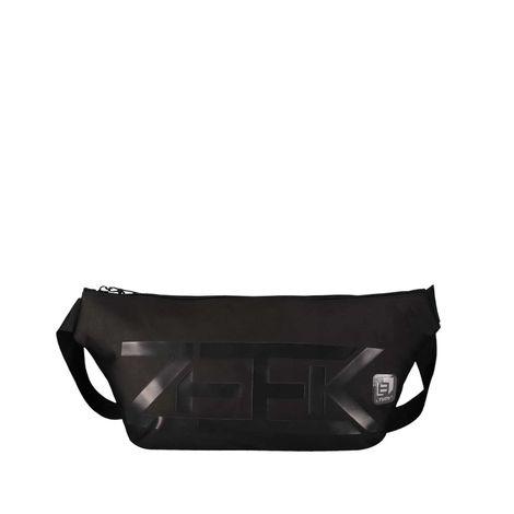 Canguro-2-en-1-con-bolsillo-secreto-y-lavero-extraible-ronen-negro