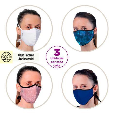 Nuevo-12-Tapabocas-Antifluidos-y-Antibacteriales-Ajustables-Multicolor