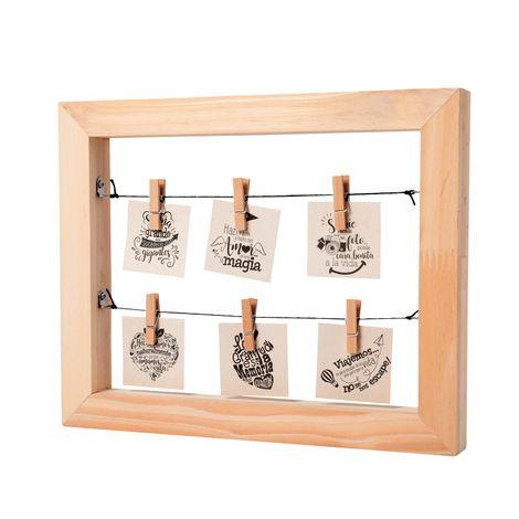 Portaretrato-madera