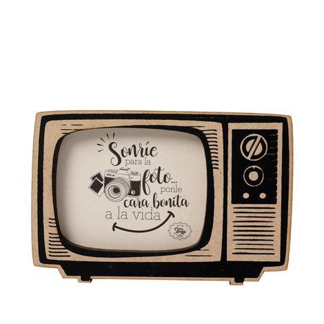 Portaretrato-tv-madera