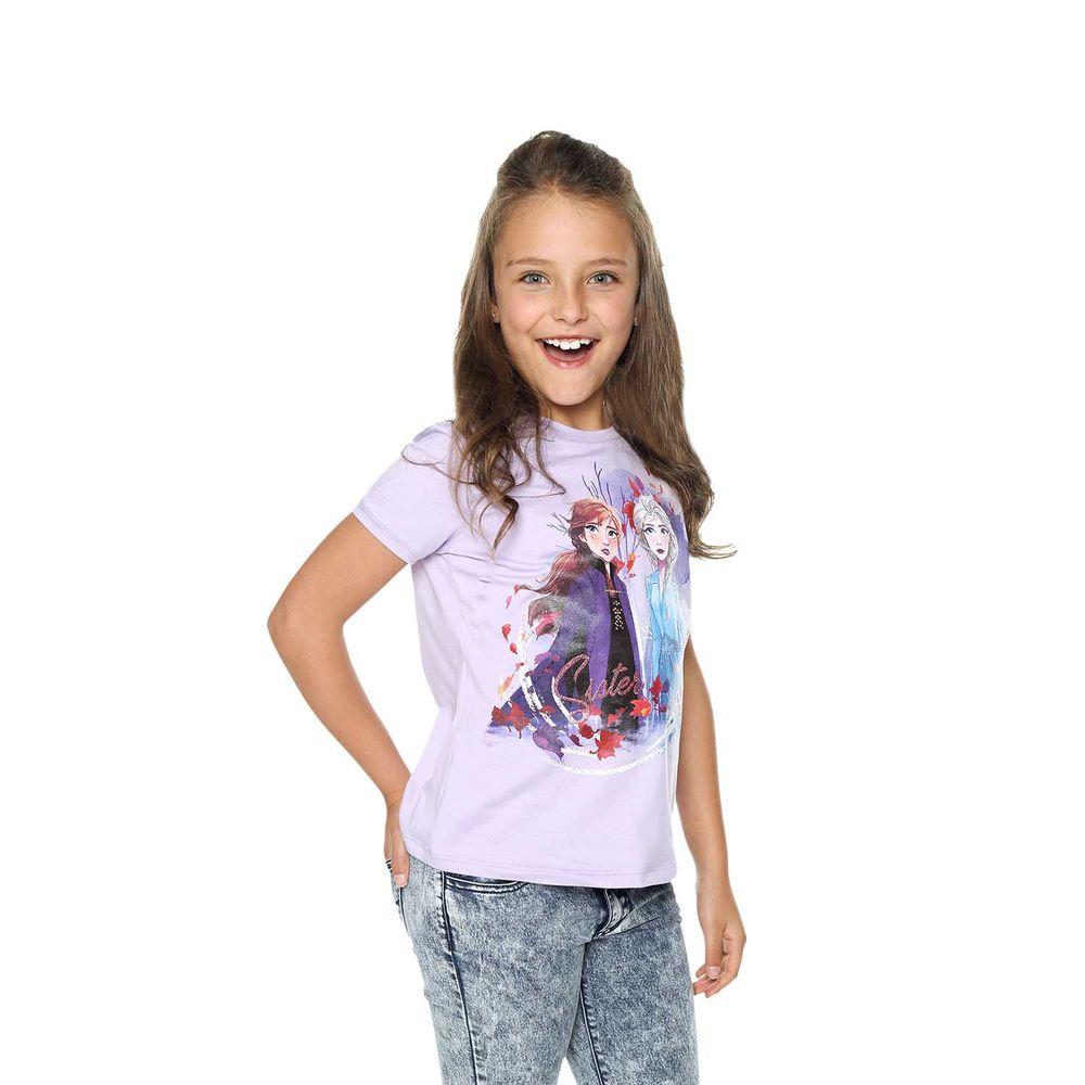 Camiseta-para-Niña-de-Frozen-Sister-Love