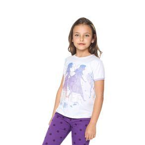 Camiseta-para-Niña-de-Frozen-Stronger-Together
