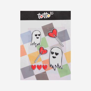 Sticker-para-Niña-Adhesivo-de-Espuma-Fantasma-Paleta-de-Corazon-Koichy