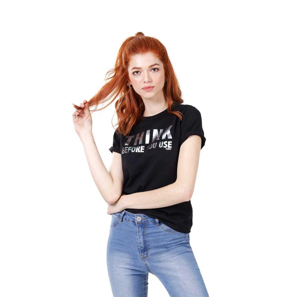 Camiseta-Para-Mujer-Thinky