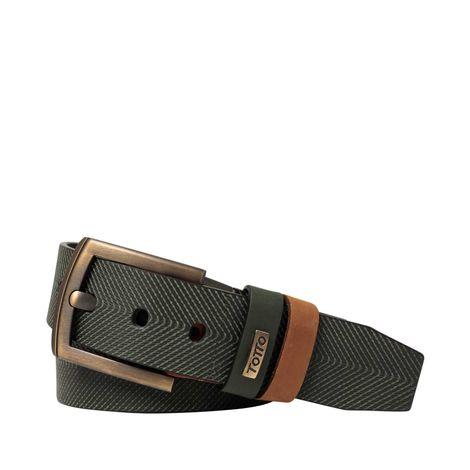 Cinturon-para-Hombre-en-Cuero-Green