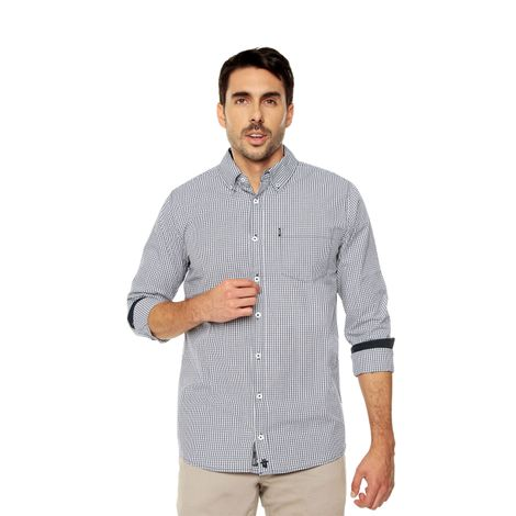 Camisa-para-Hombre-Cuello-Button-Down-Regular-Fit-Down-Ml
