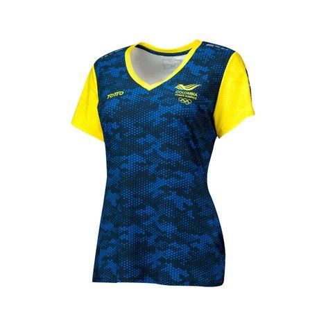 Camiseta-para-Mujer-Manga-Corta-Juegos-Panamericanos
