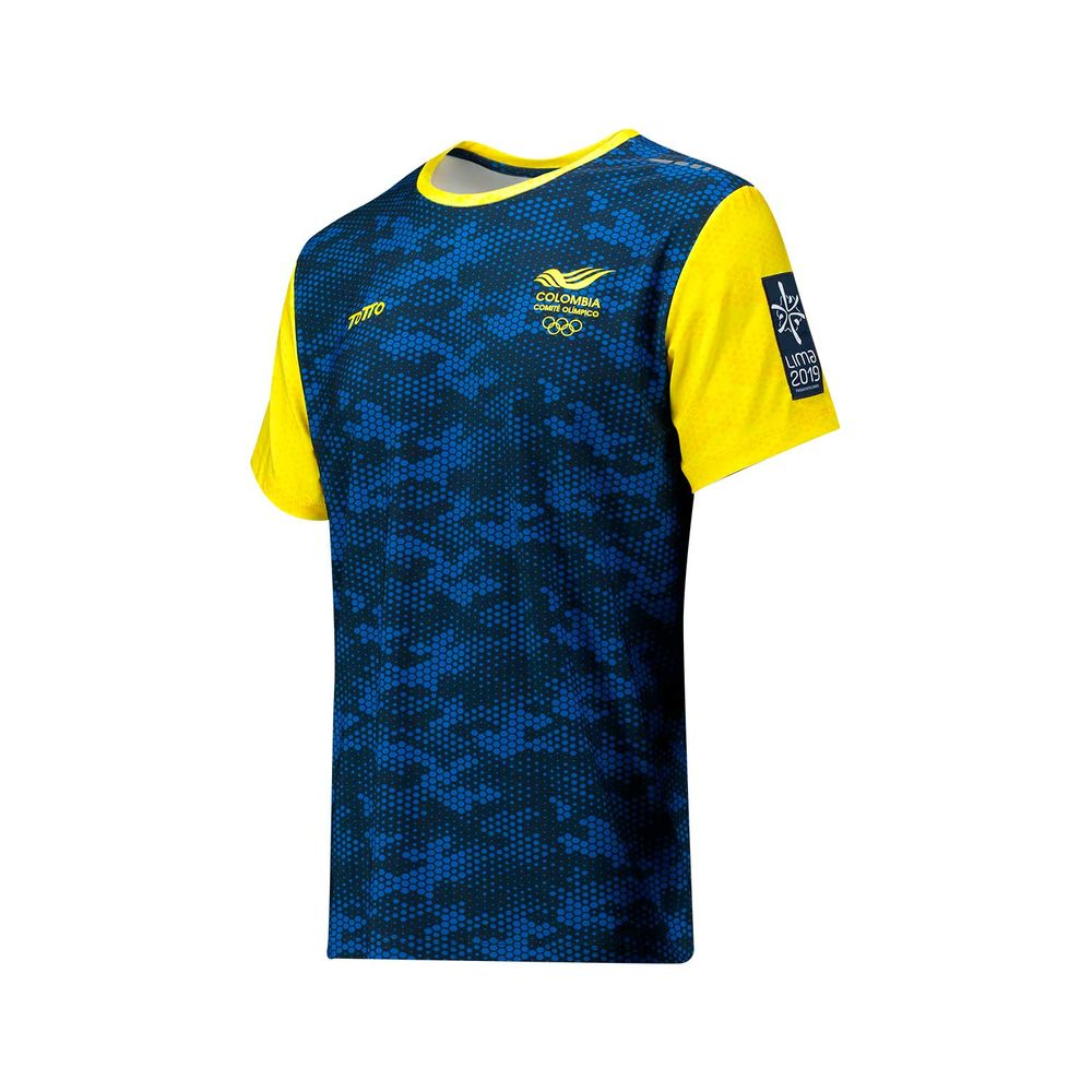Camiseta-para-Hombre-Manga-Corta-Juegos-Panamericanos--2019