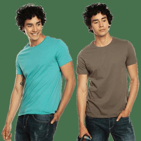 Camiseta-pack-x-2-para-Hombre-y-Mozart-Totto-Colors