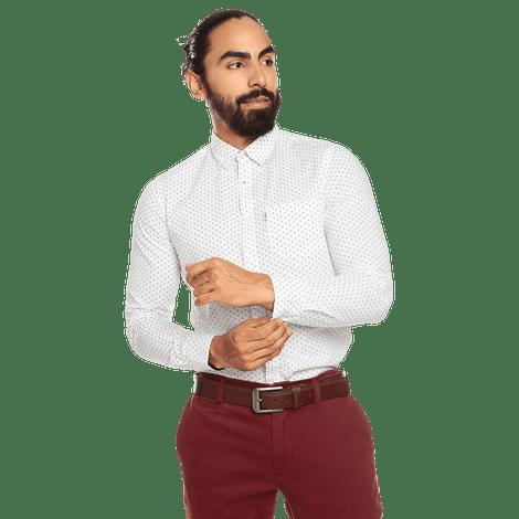 Camisa-para-Hombre-Manga-Larga-Mini-Print-Porter
