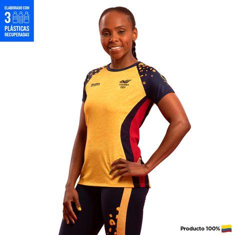 Camiseta-Oficial-Para-Mujer-Olimpicos-Tokio-2021