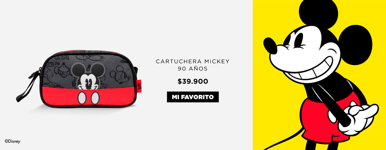 Cartuchera Mickey Totto Colombia 2018